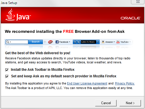 Java crapware [LWN.net]